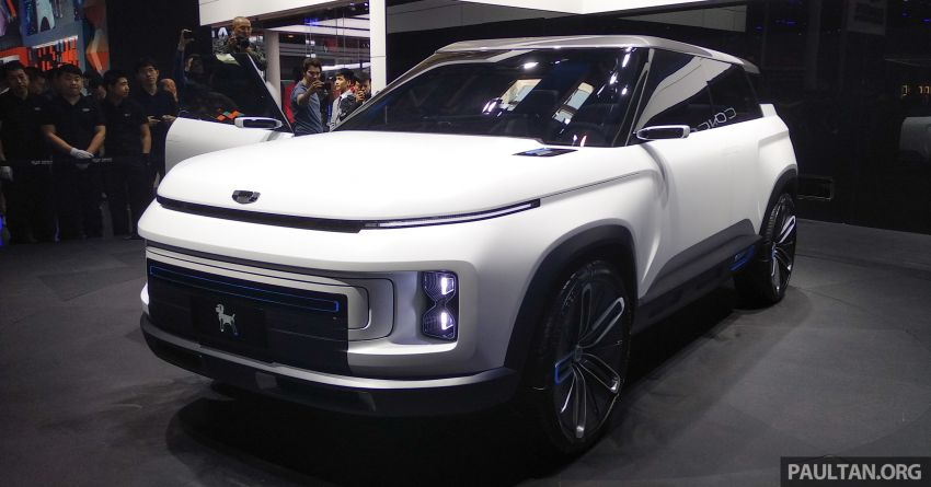 Geely Concept Icon unveiled at Beijing Motor Show Image #810846