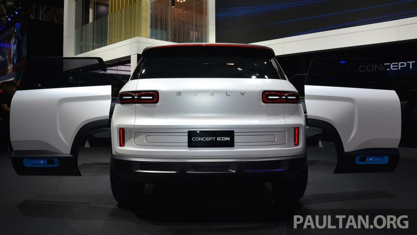 Geely Concept Icon unveiled at Beijing Motor Show Image #811620