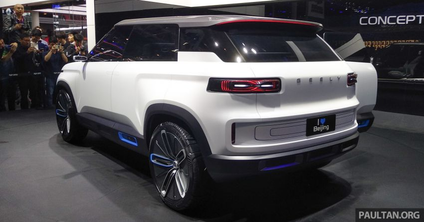 Geely Concept Icon unveiled at Beijing Motor Show Image #810848