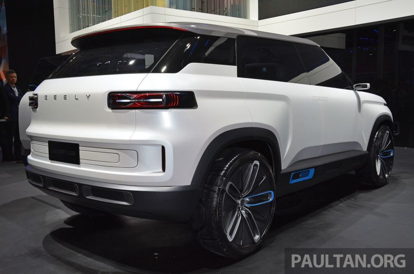 Geely Concept Icon unveiled at Beijing Motor Show Image #811642