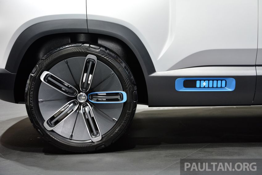 Geely Concept Icon unveiled at Beijing Motor Show Image #811643