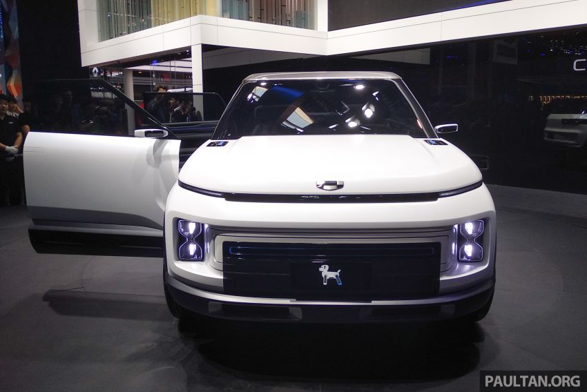 Geely Concept Icon unveiled at Beijing Motor Show Image #810851