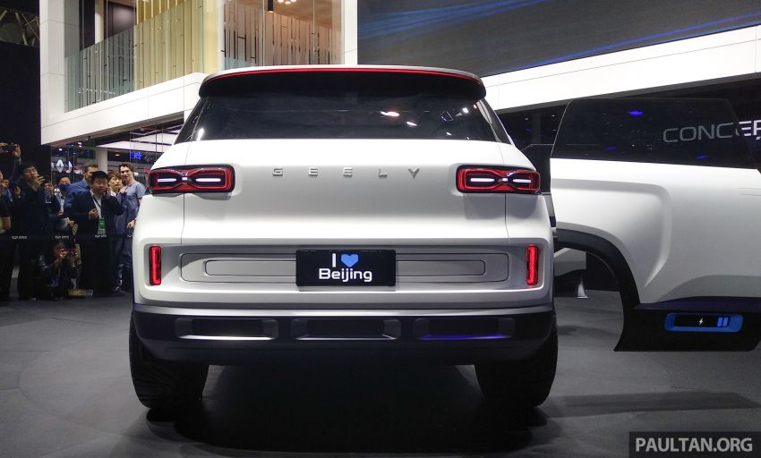 Geely Concept Icon unveiled at Beijing Motor Show Image #810854