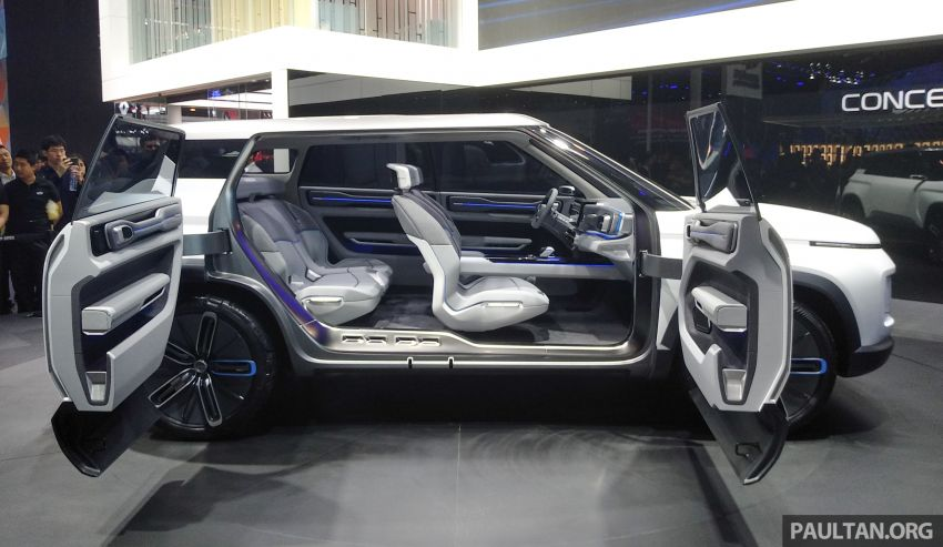 Geely Concept Icon unveiled at Beijing Motor Show Image #810859