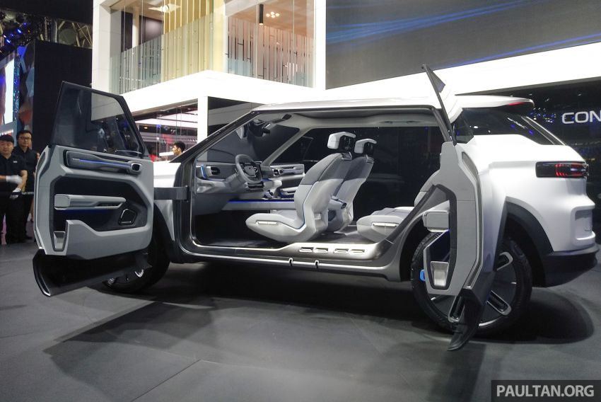 Geely Concept Icon unveiled at Beijing Motor Show Image #810860