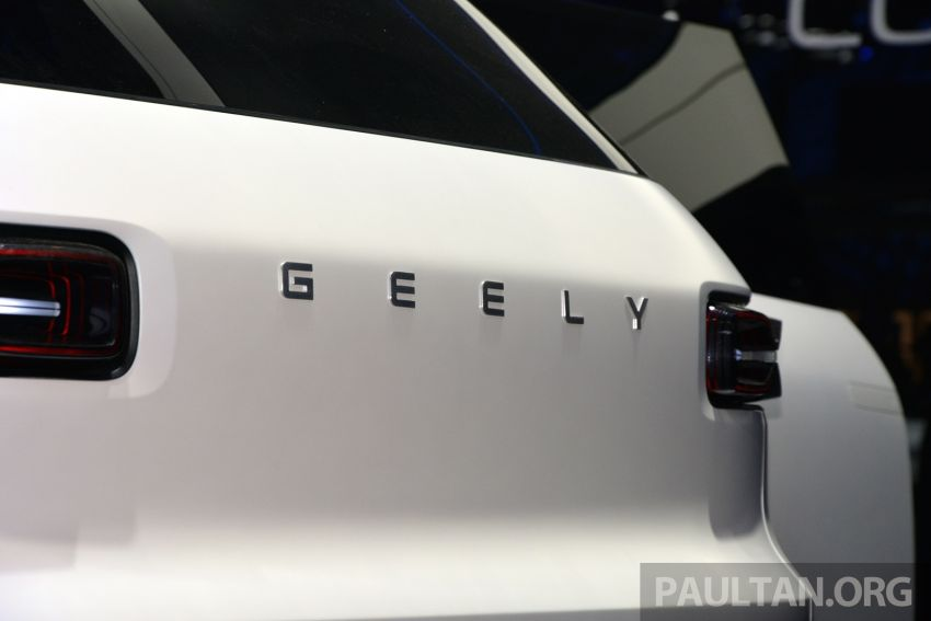 Geely Concept Icon unveiled at Beijing Motor Show Image #811627