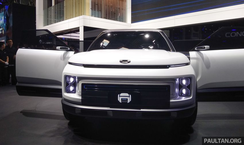Geely Concept Icon unveiled at Beijing Motor Show Image #810862