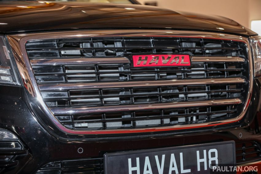 Haval H8 and H9 SUVs previewed in Malaysia – Q4 2018 launch for H9, two variants, below RM200k Image #812093