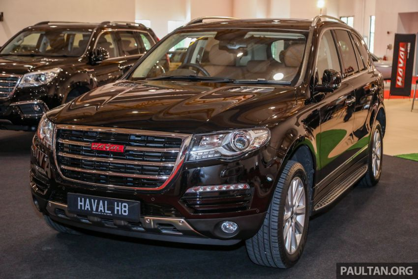 Haval H8 and H9 SUVs previewed in Malaysia – Q4 2018 launch for H9, two variants, below RM200k Image #812080