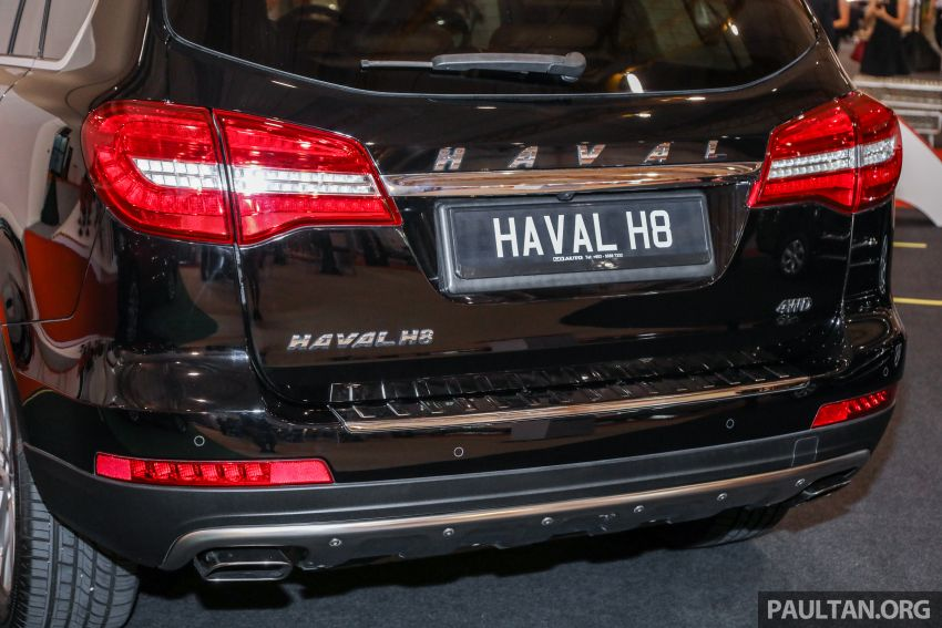 Haval H8 and H9 SUVs previewed in Malaysia – Q4 2018 launch for H9, two variants, below RM200k Image #812107