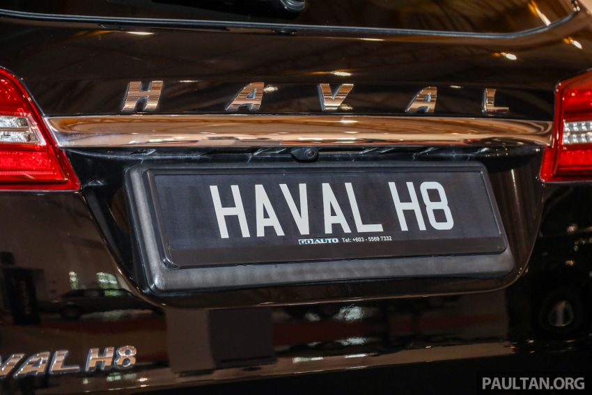 Haval H8 and H9 SUVs previewed in Malaysia – Q4 2018 launch for H9, two variants, below RM200k Image #812112