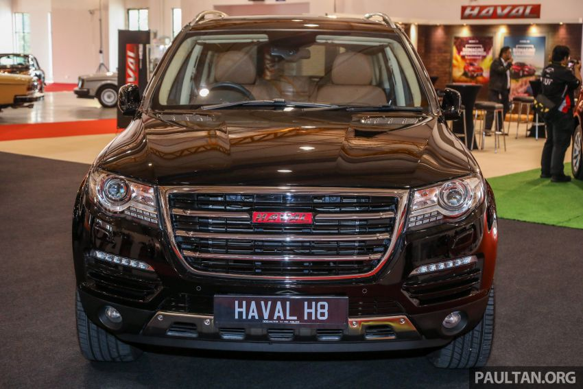 Haval H8 and H9 SUVs previewed in Malaysia – Q4 2018 launch for H9, two variants, below RM200k Image #812085
