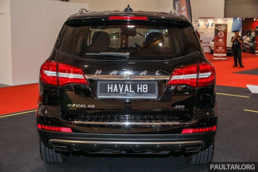 Haval H8 and H9 SUVs previewed in Malaysia – Q4 2018 launch for H9, two variants, below RM200k Image #812086