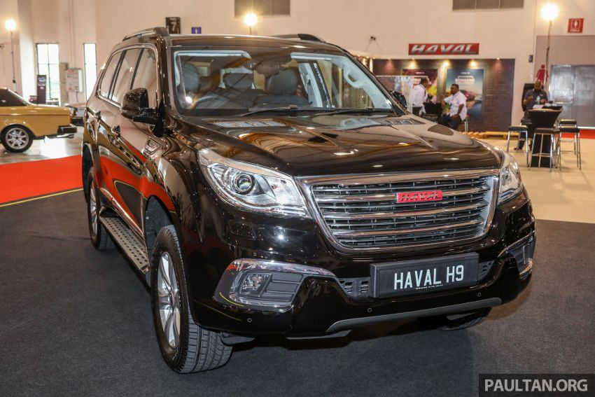 Haval H8 and H9 SUVs previewed in Malaysia – Q4 2018 launch for H9, two variants, below RM200k Image #812036