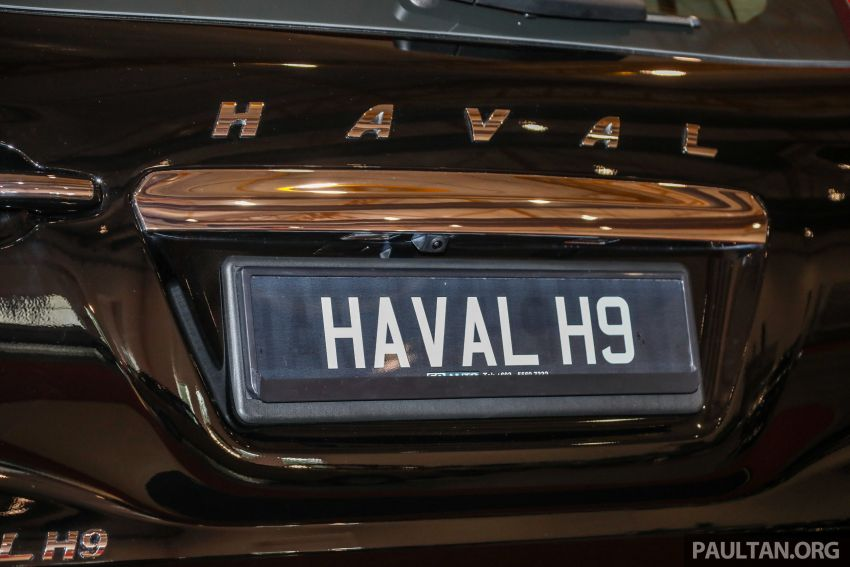 Haval H8 and H9 SUVs previewed in Malaysia – Q4 2018 launch for H9, two variants, below RM200k Image #812062