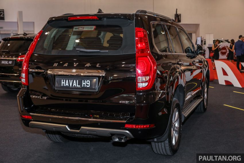 Haval H8 and H9 SUVs previewed in Malaysia – Q4 2018 launch for H9, two variants, below RM200k Image #812038