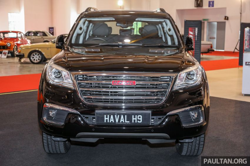 Haval H8 and H9 SUVs previewed in Malaysia – Q4 2018 launch for H9, two variants, below RM200k Image #812042