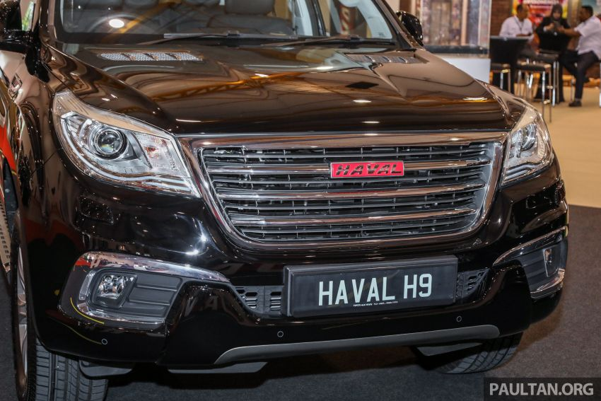 Haval H8 and H9 SUVs previewed in Malaysia – Q4 2018 launch for H9, two variants, below RM200k Image #812044