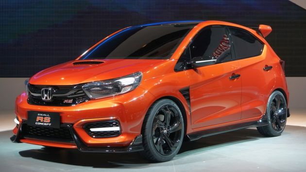 Honda Has Given Its Small RS Concept World Premiere At The Indonesia International Motor Show IIMS 2018 Which Began Today