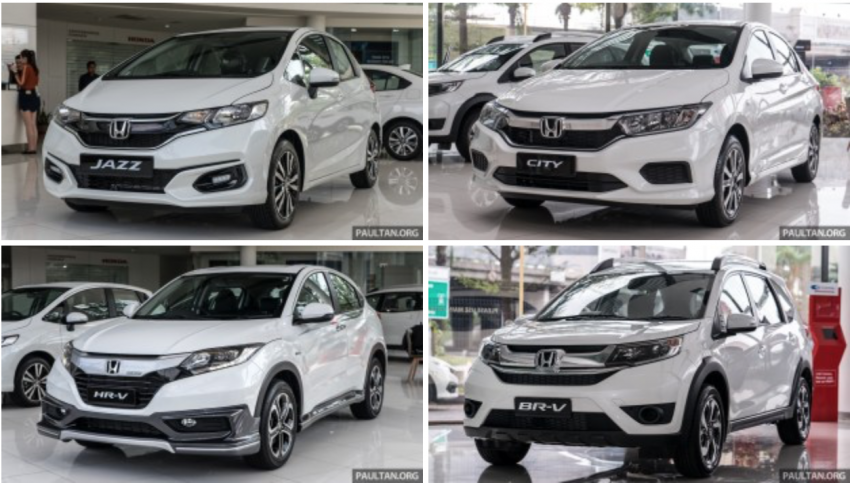 GALLERY: 2018 Honda Jazz, City, BR-V and HR-V in new Orchid White Pearl – replaces Taffeta White Image #802938