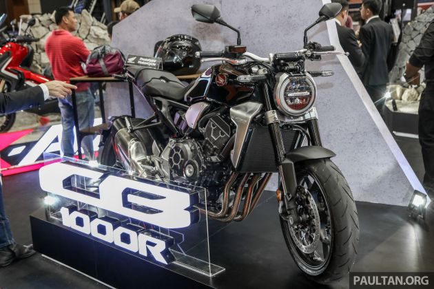 FIRST LOOK 2018 Honda CB1000R Naked In Malaysia