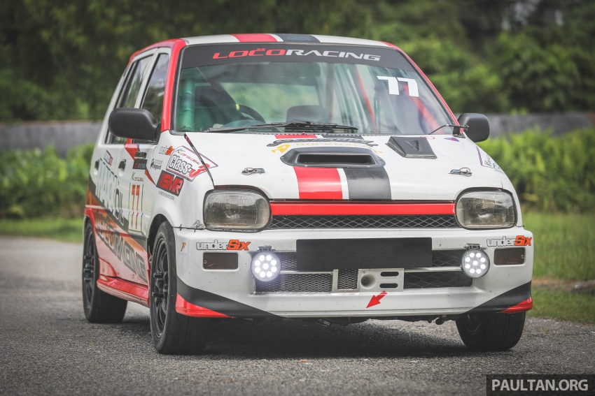 Perodua Kancil – baka perlumbaan dari Rawang Image #801222