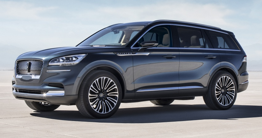Lincoln Aviator previewed in New York – three-row SUV with plug-in hybrid option, production next year Image #801397
