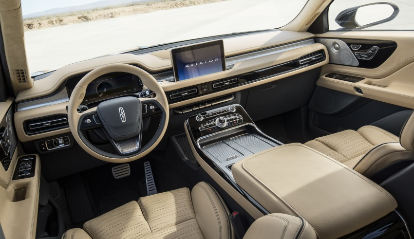 Lincoln Aviator previewed in New York – three-row SUV with plug-in hybrid option, production next year Image #801408