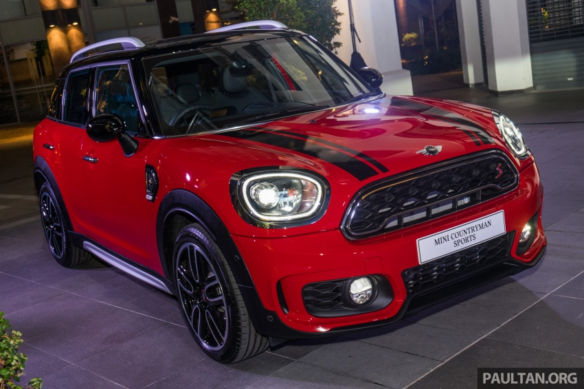 Mini Cooper S Countryman Sports Launched Ckd John Cooper Works Aerokit And Wheels Rm245 888