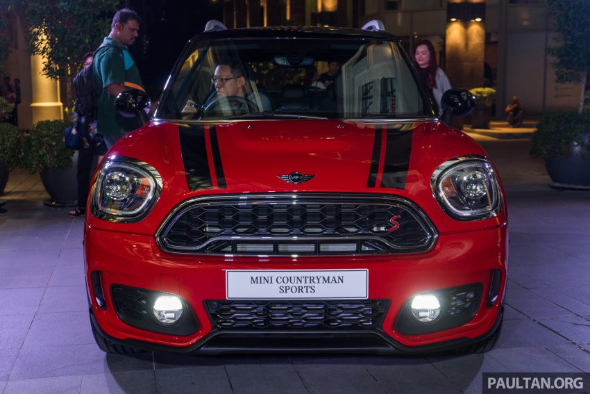 MINI Cooper S Countryman Sports launched – CKD, John Cooper Works aerokit and wheels, RM245,888 Image #803039