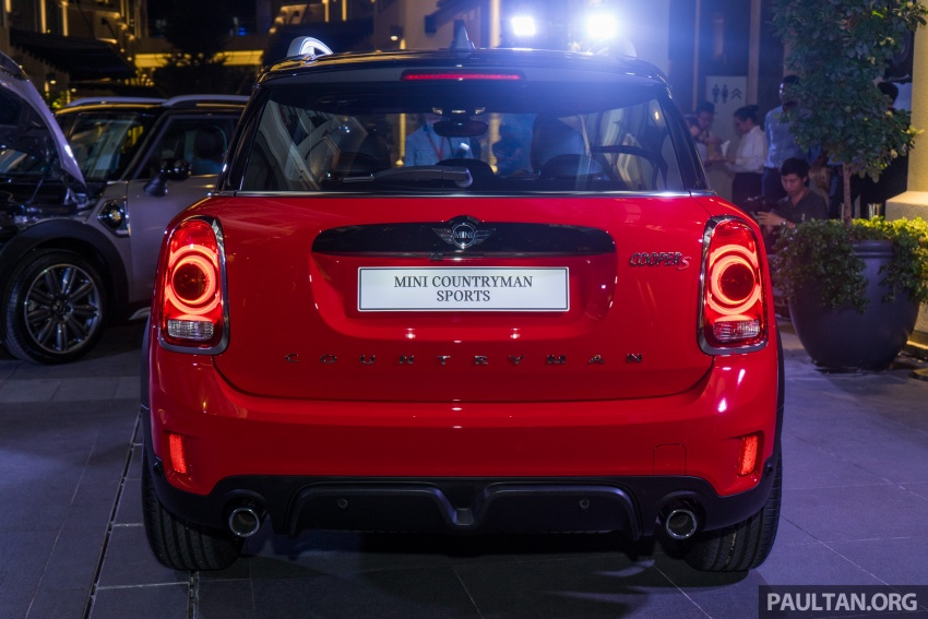 MINI Cooper S Countryman Sports launched – CKD, John Cooper Works aerokit and wheels, RM245,888 Image #803040