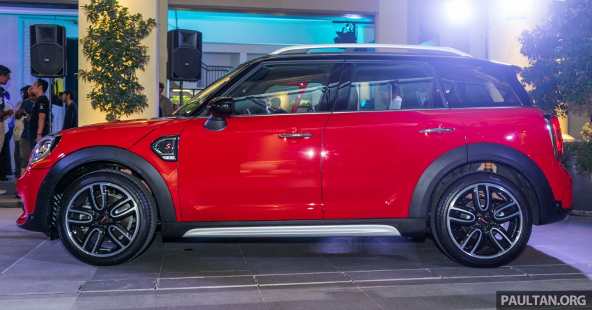 MINI Cooper S Countryman Sports launched – CKD, John Cooper Works aerokit and wheels, RM245,888 Image #803041