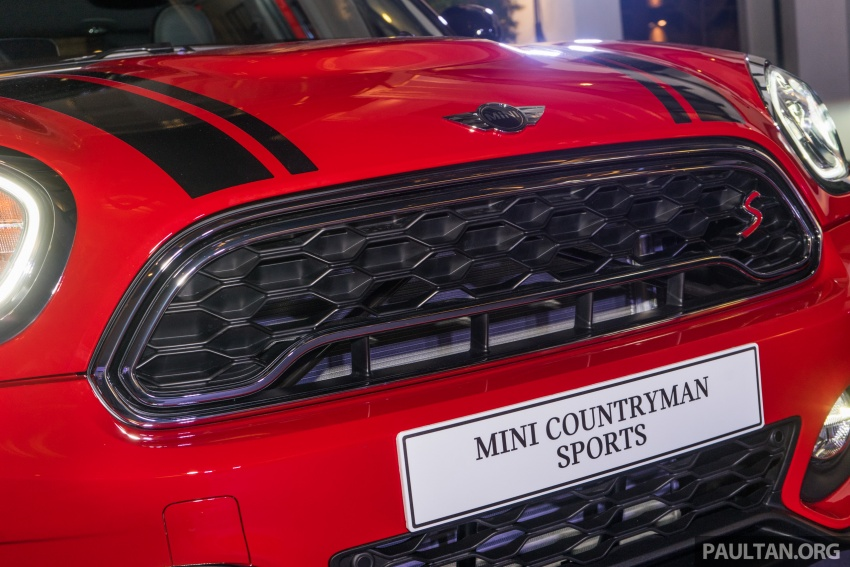 MINI Cooper S Countryman Sports launched – CKD, John Cooper Works aerokit and wheels, RM245,888 Image #803044