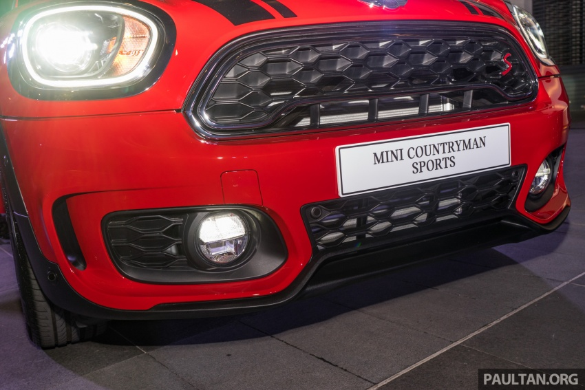 MINI Cooper S Countryman Sports launched – CKD, John Cooper Works aerokit and wheels, RM245,888 Image #803045