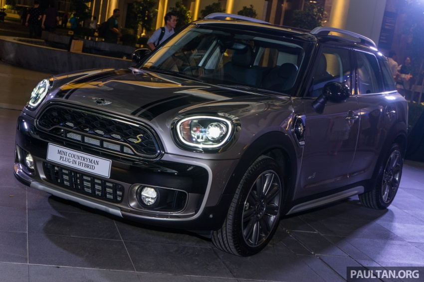 F60 MINI Cooper S E Countryman All4 in Malaysia – 1.5 turbo PHEV, 0-100 in 6.8 sec, 2.1 l/100 km, RM256k Image #803086