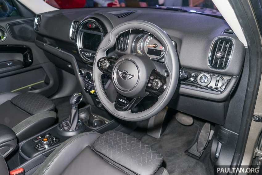F60 MINI Cooper S E Countryman All4 in Malaysia – 1.5 turbo PHEV, 0-100 in 6.8 sec, 2.1 l/100 km, RM256k Image #803112