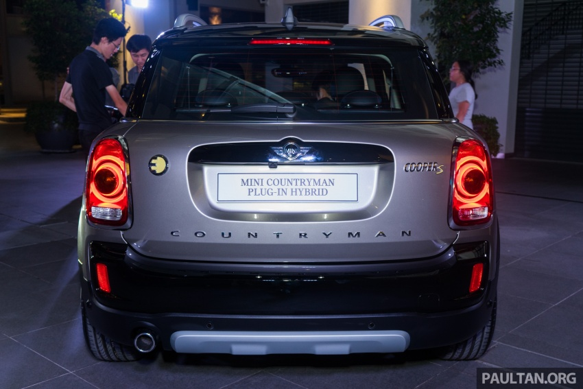 F60 MINI Cooper S E Countryman All4 in Malaysia – 1.5 turbo PHEV, 0-100 in 6.8 sec, 2.1 l/100 km, RM256k Image #803090