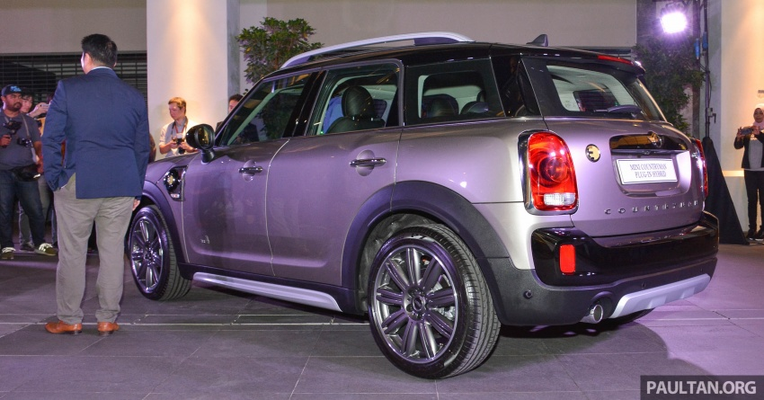 F60 MINI Cooper S E Countryman All4 in Malaysia – 1.5 turbo PHEV, 0-100 in 6.8 sec, 2.1 l/100 km, RM256k Image #803023