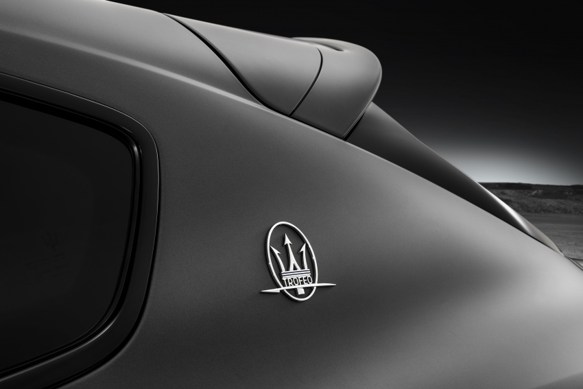 Maserati Levante Trofeo revealed with 590 hp V8 power Image #800867