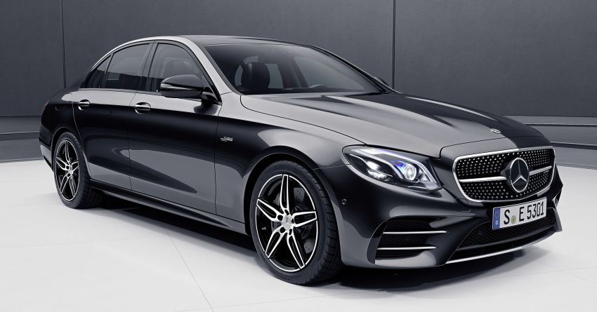 Mercedes Benz >> Mercedes-Benz E-Class Sedan and Estate updated – new engines, tech, AMG E53 4Matic+ variants ...