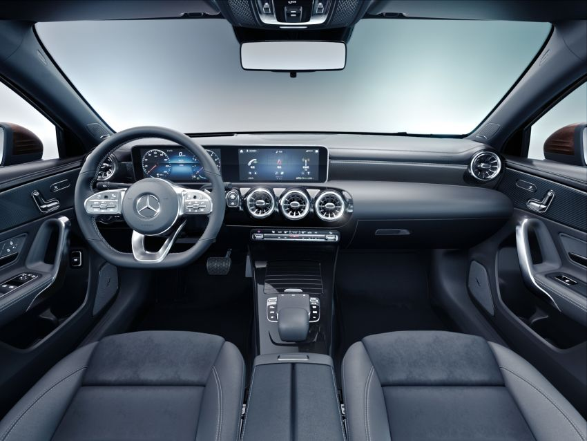 Z177 Mercedes-Benz A-Class L Sedan revealed in Beijing – alternate version for other markets in H2 2018 Image #810565