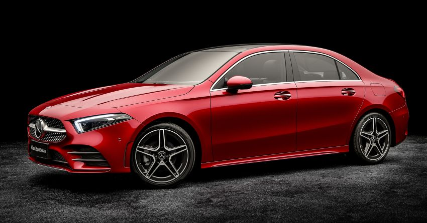 Z177 Mercedes-Benz A-Class L Sedan revealed in Beijing – alternate version for other markets in H2 2018 Image #810556