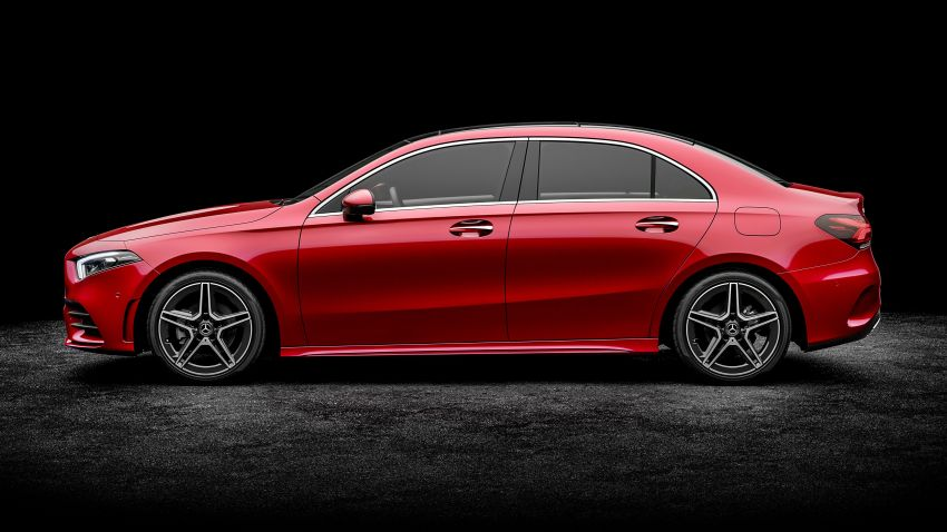Z177 Mercedes-Benz A-Class L Sedan revealed in Beijing – alternate version for other markets in H2 2018 Image #810557