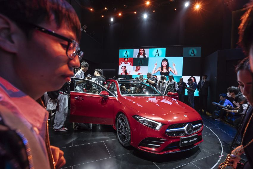 Z177 Mercedes-Benz A-Class L Sedan revealed in Beijing – alternate version for other markets in H2 2018 Image #810583