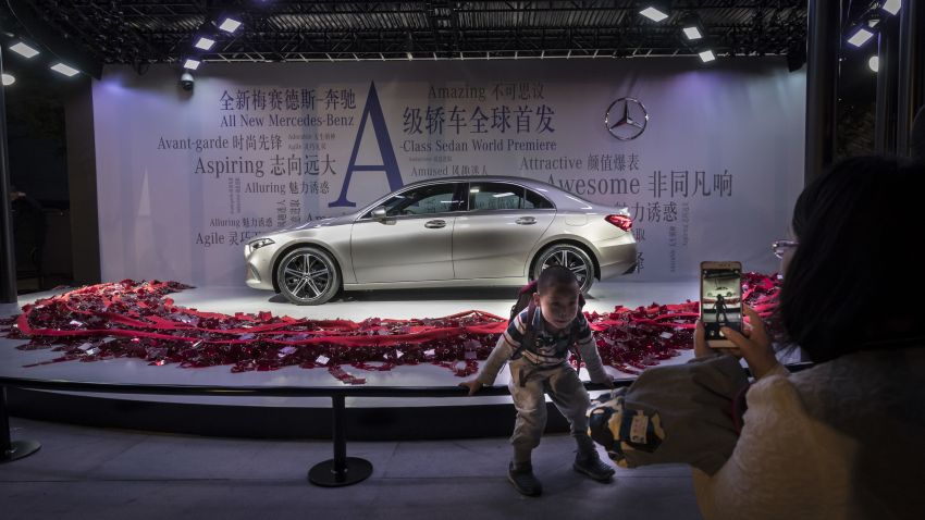 Z177 Mercedes-Benz A-Class L Sedan revealed in Beijing – alternate version for other markets in H2 2018 Image #810594