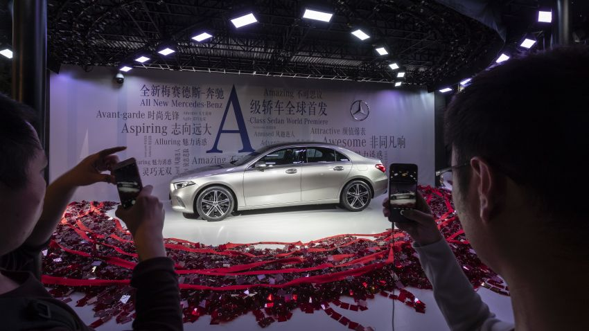 Z177 Mercedes-Benz A-Class L Sedan revealed in Beijing – alternate version for other markets in H2 2018 Image #810595