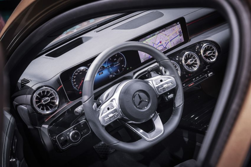 Z177 Mercedes-Benz A-Class L Sedan revealed in Beijing – alternate version for other markets in H2 2018 Image #810602