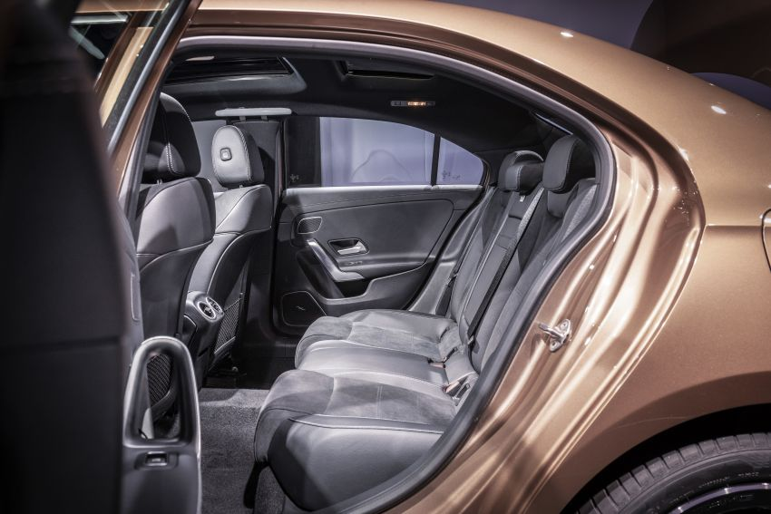 Z177 Mercedes-Benz A-Class L Sedan revealed in Beijing – alternate version for other markets in H2 2018 Image #810603