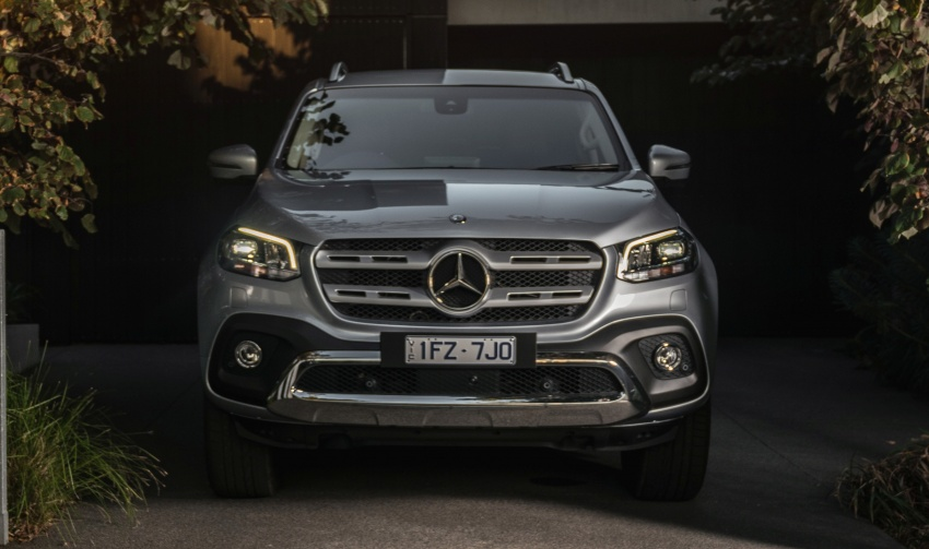 Mercedes-Benz X-Class launched in Australia – MBM confirms no plans to introduce pick-up in Malaysia Image #806527