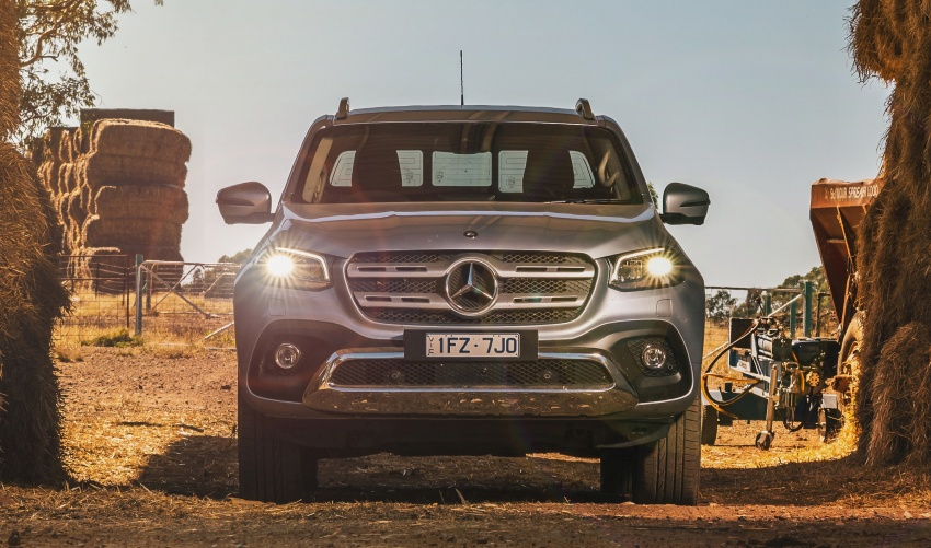 Mercedes-Benz X-Class launched in Australia – MBM confirms no plans to introduce pick-up in Malaysia Image #806549